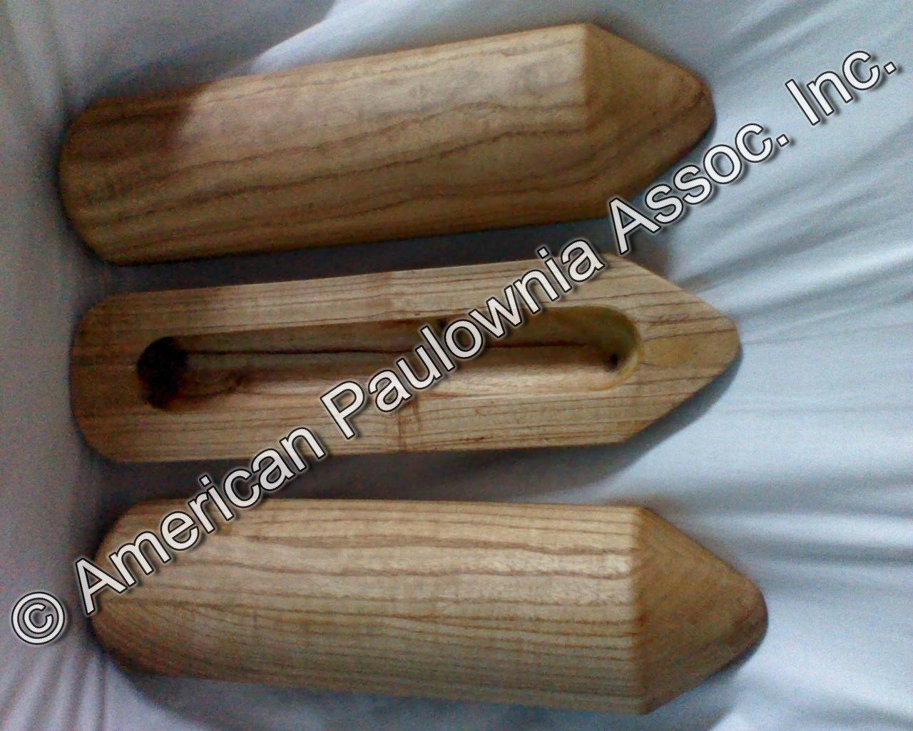 Therapeutic pillows made from Paulownia wood